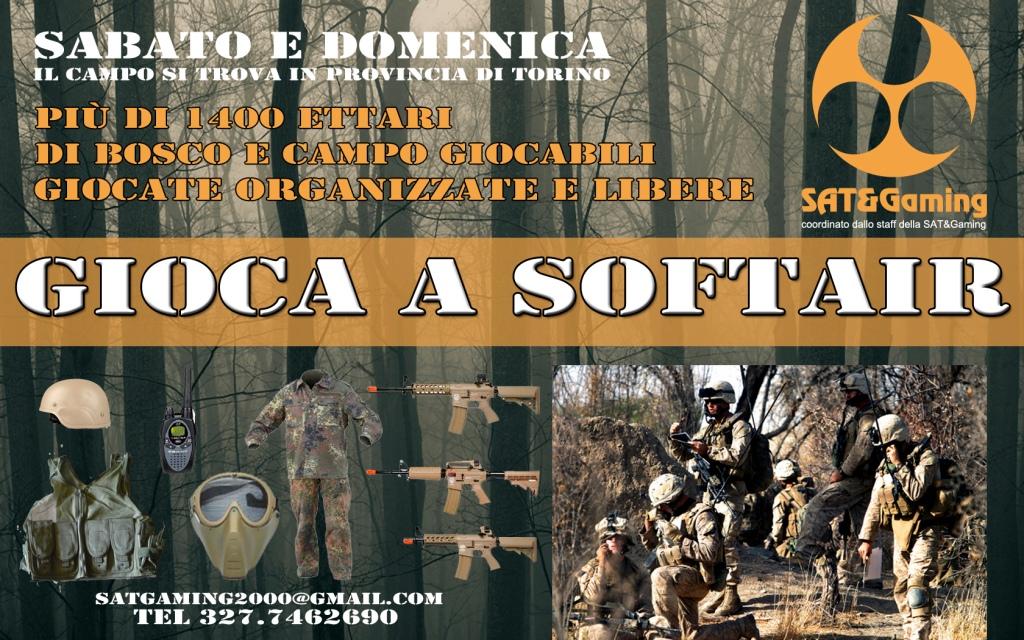 NOLEGGIO GRATUITO softair Torino