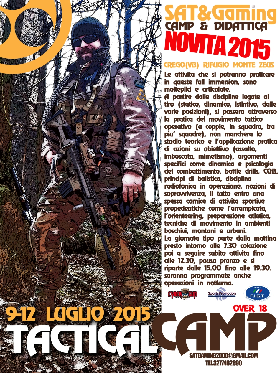 tactical CAMP SENIOR 2015